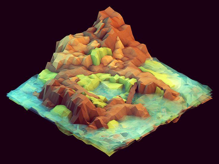 Island Map - by Timothy J. Reynolds