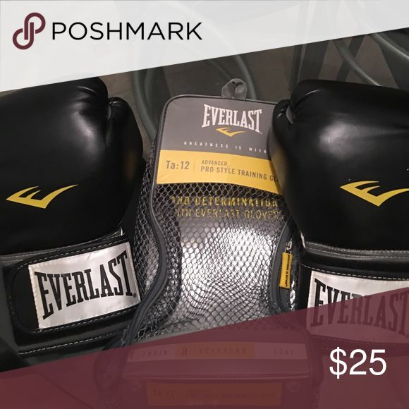 Everlast Pro Style women's boxing gloves Like new.... only used a few times in a kick boxing class Other