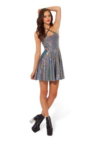 Shattered Crystal Reversible Straps Dress - LIMITED