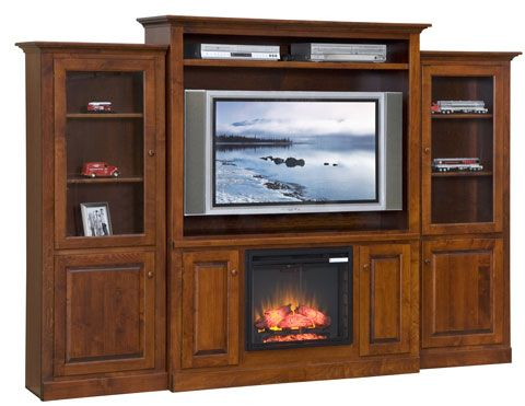 Armoire with fire place...have allen make?