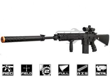JG Full Metal SR-25 AEG Airsoft Gun