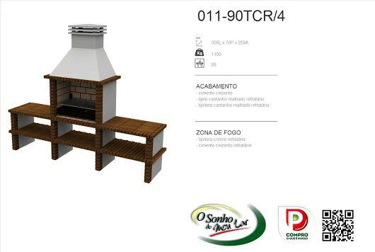 Churrasqueira Modelo  011-90TCR/4