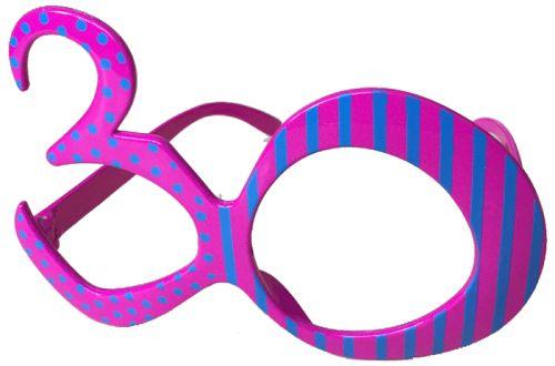30 yaş pop parti gözlük
