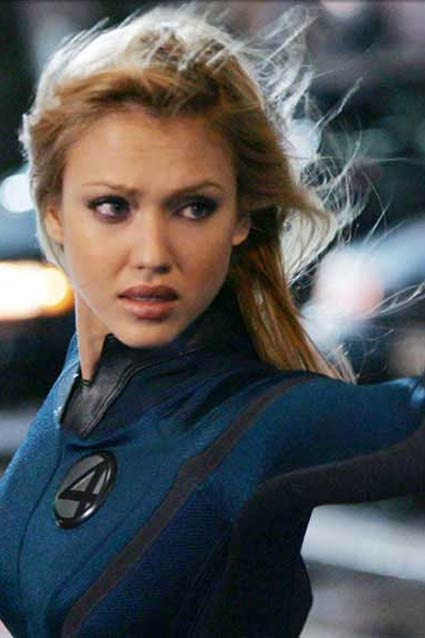 Sue Storm - AKA Invisible Woman - AKA Jessica Alba, (Fantastic Four / 2005 &2007) {Susan Storm Richards} ®... #{T.R.L.}