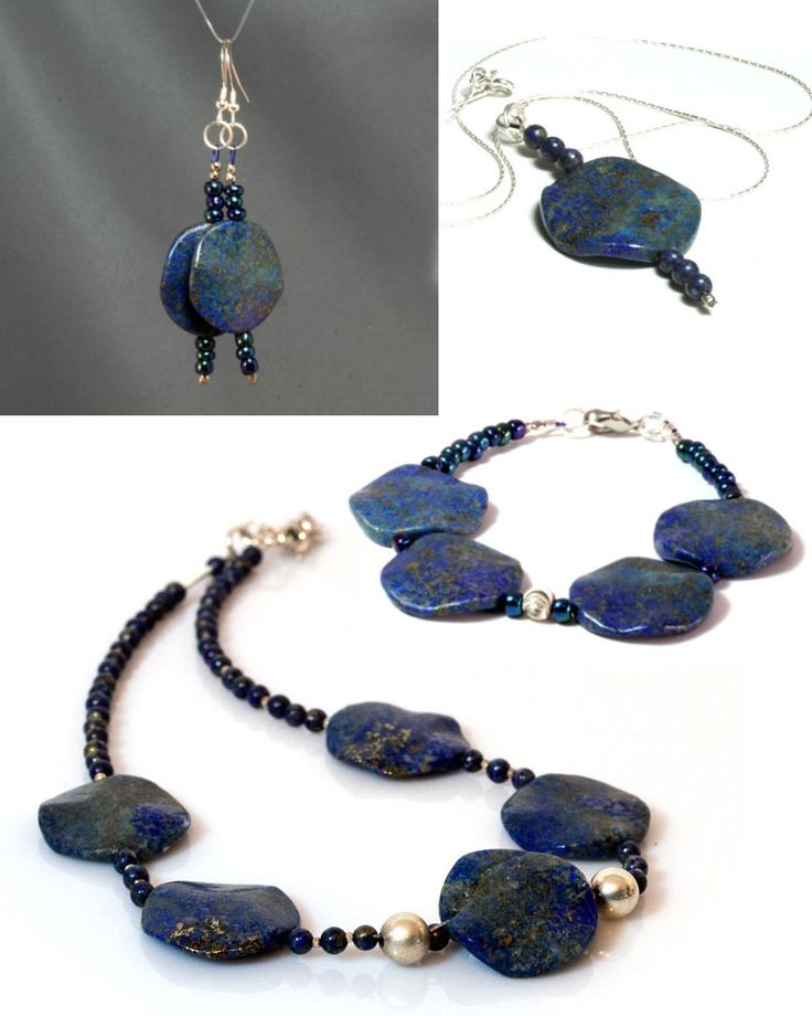 Lapis Lazuli Jewellery by Heyme on Handmade in Europe