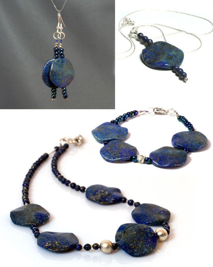 Lapis Lazuli Jewellery by Heyme on Handmade in Europe
