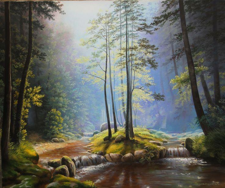 Oleg Bylgakov Contemporary Painter, Artist | absolutearts ...