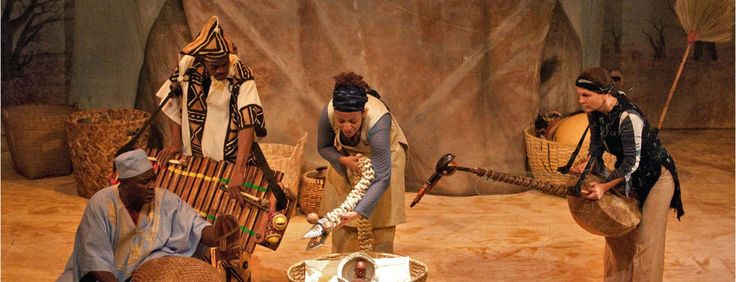 BAOBAB- 24-28 March Show - A journey to the heart of Africa. In the middle of an African drought, a small boy emerges from the nut of a baobab tree to bring the village back its water source.
