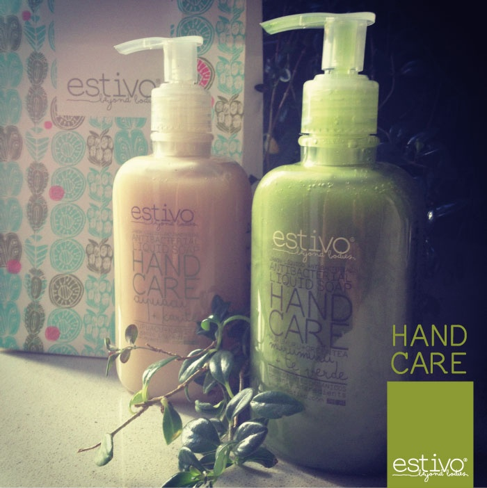 HAND CARE: Antibacterial Liquid soap.  A gentle cleanser enriched with cupuacu butter and karate, the soap contains organic ingredients from the Amazonas. Each fruits is collected through a ritual between chamans. The soap provides softening and moisturizing action with a delicate scent. Leaves hands clean, fresh, smooth and supple. Suitable for everyday use.