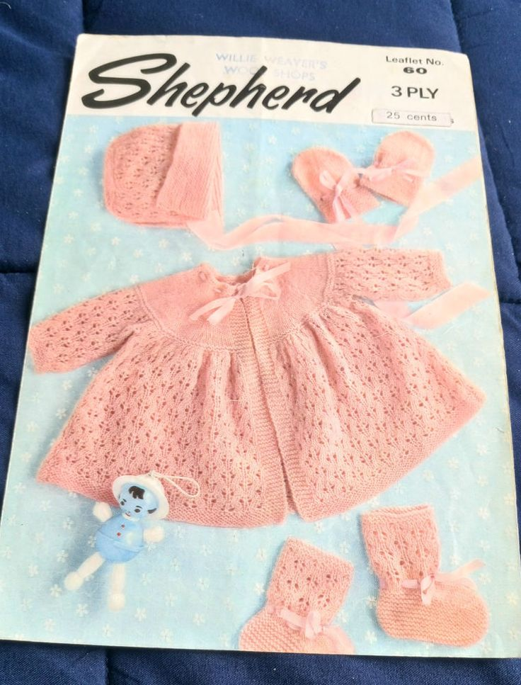 The 251 best Vintage Baby knitting patterns images on Pinterest ...
