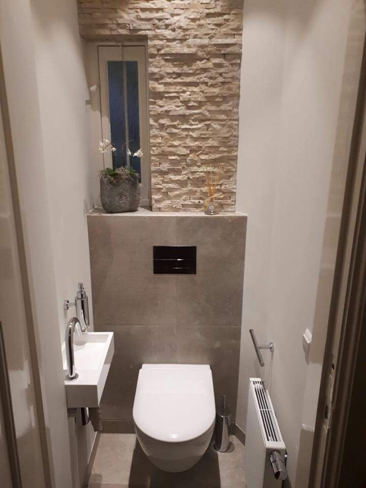 Love The Way They Used The Back Wall In This Small Bathroom To