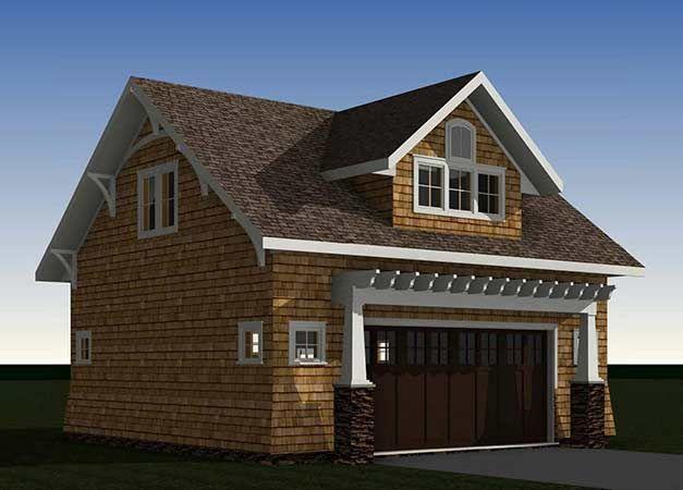 25 best ideas about bungalow floor plans on pinterest for Unique garage apartment plans