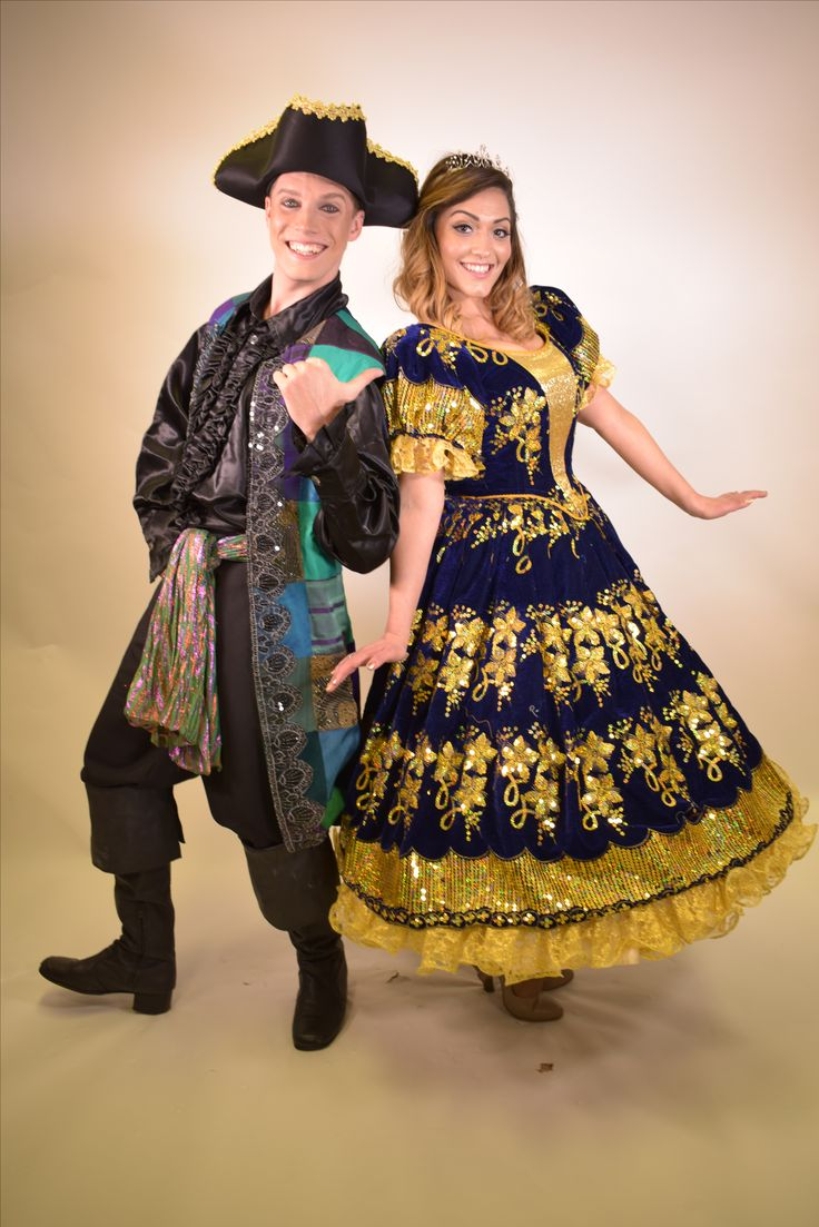 Pirate & Princess costumes for boogie management, designed and made by John Hill