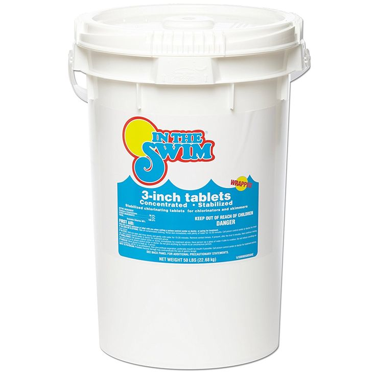 Buy In The Swim 3 Inch Pool Chlorine Tablets 50 lbs. - Besthomdec.com ✓ FREE DELIVERY possible on eligible purchases