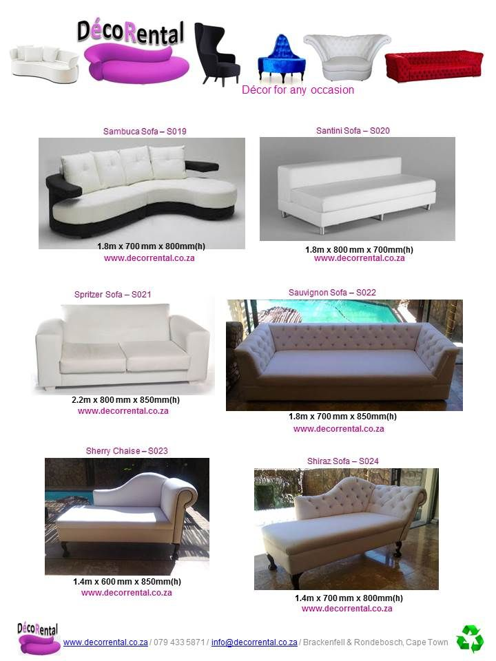 Furniture for Hire