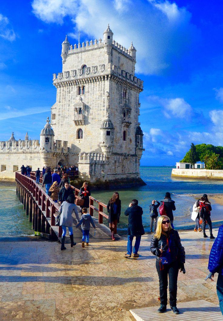 The wonderful Tower of Belém. Lisbon - Portugal.