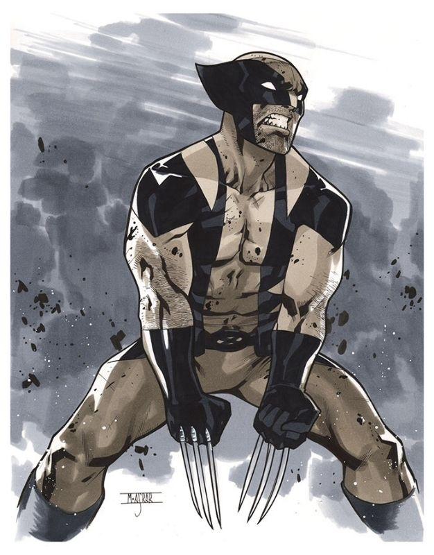 Wolverine byMahmud Asrar