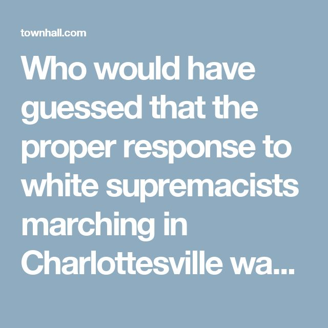Who would have guessed that the proper response to white supremacists marching in Charlottesville was to encourage election fraud?  At least, that's the position taken by congressional Democrats.They apparently have forgotten the lessons of their party's Jim Crow laws, poll taxes and the like.