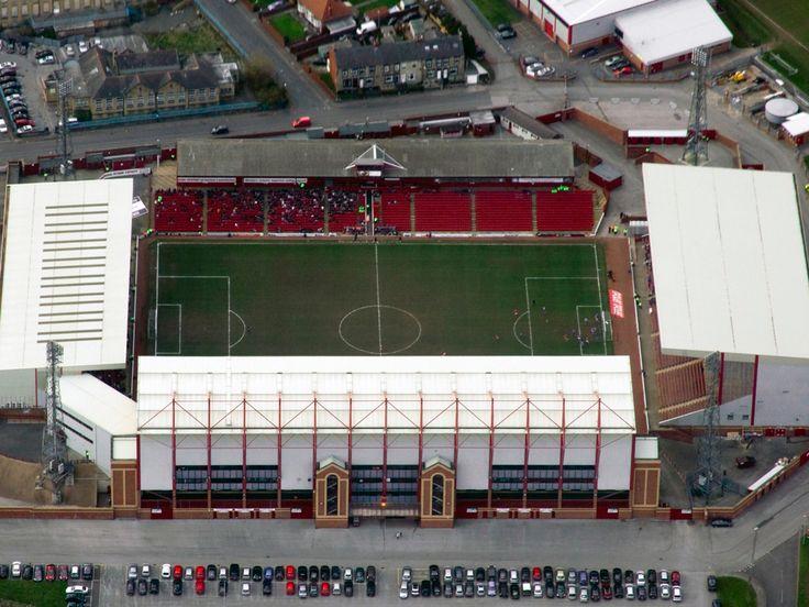 Oakwell - Aerial - Barnsley FC