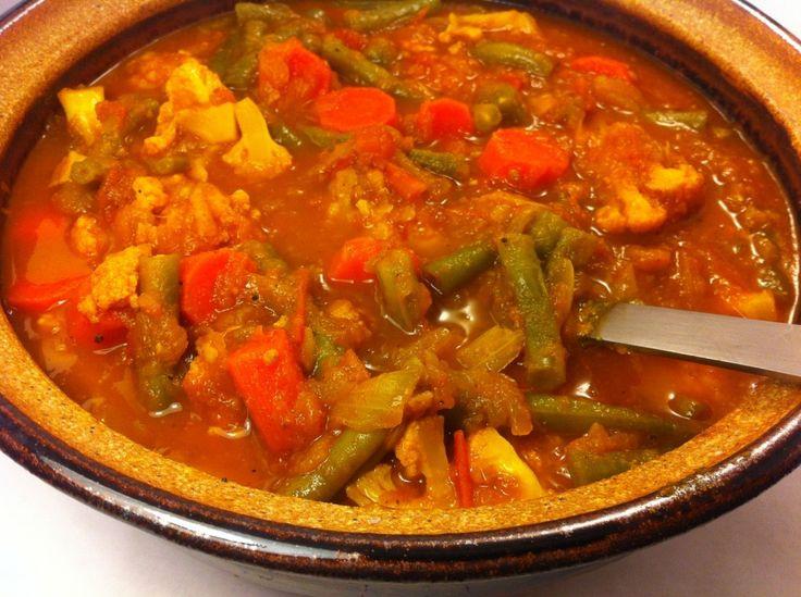 Cape Malay Vegetable Curry - Mayabugs's Recipes