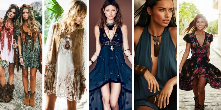 20 ideas for bohemian look outfits