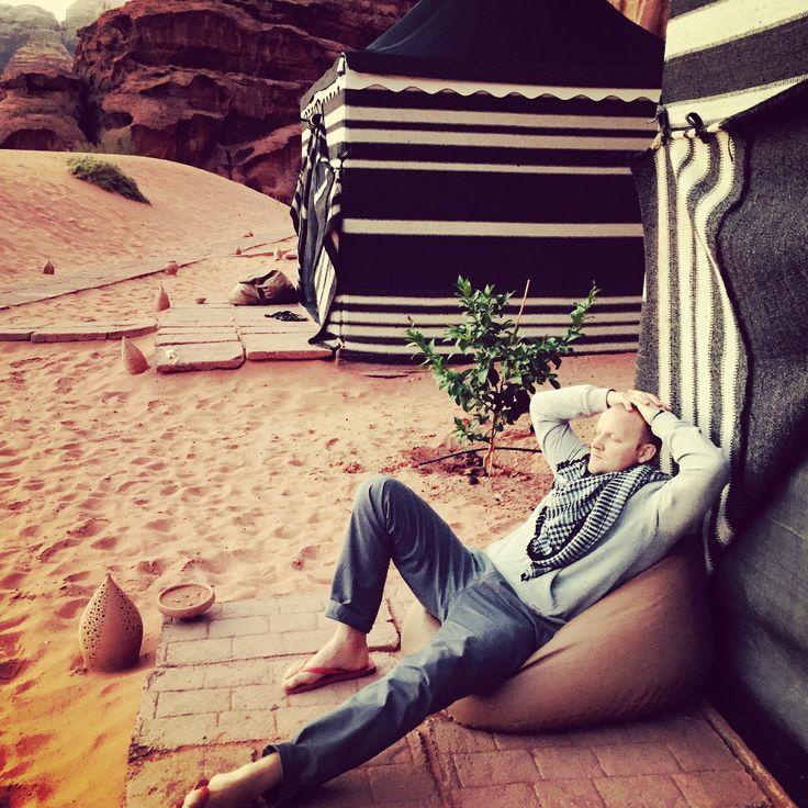 #relax #dayoff #desert #jordan #travel