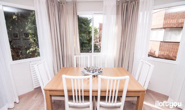 #proyectobonanova2 #iloftyou #interiordesign #ikea #barcelona #lowcost #diningroom #bjursta #matilda #borje