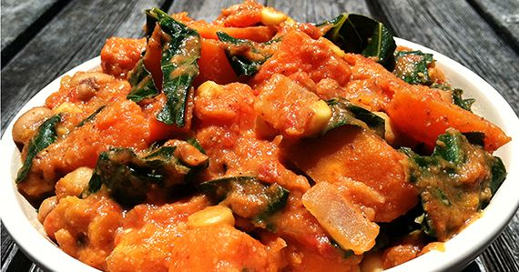 Africans, Stew and Forks over knives on Pinterest
