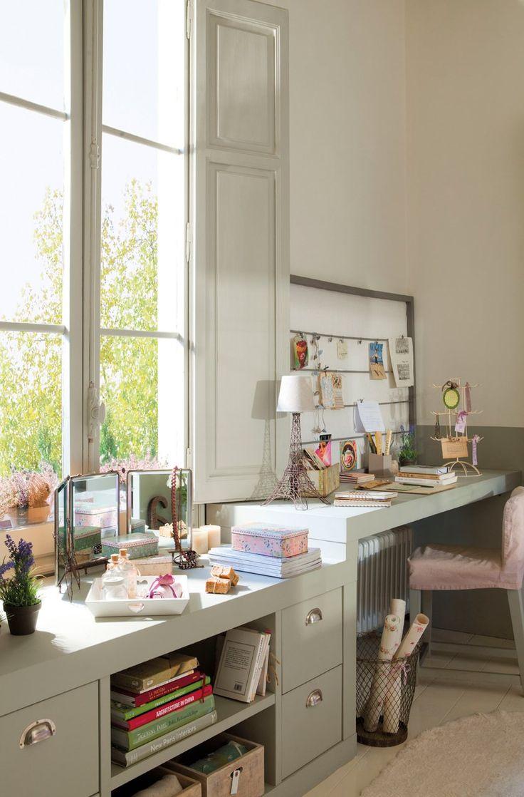 El dormitorio ideal de una adolescente · ElMueble.com · Niños