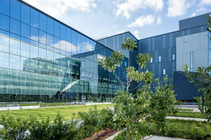 Veterans protect the country. Now, lightning protection systems protect the vets at the new Southeast Louisiana Veterans Health Care System Medical Center, designed by NBBJ.