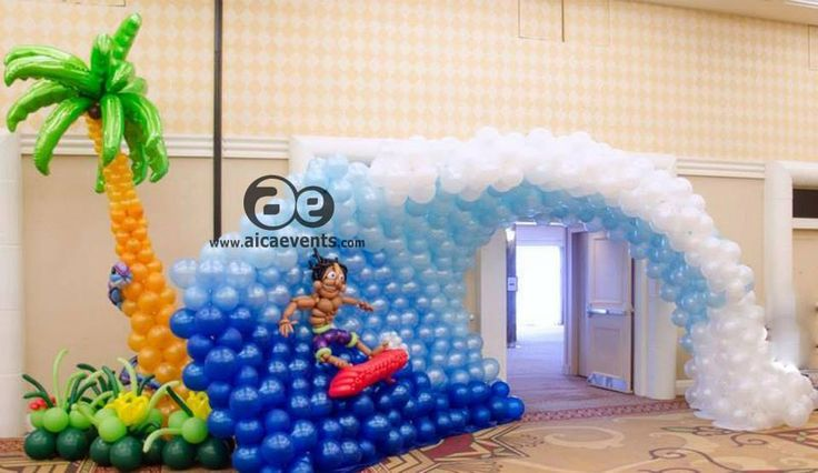 53 best images about birthday parties on pinterest for Balloon decoration in coimbatore