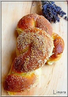 Limara péksége: Levendulás fonatok