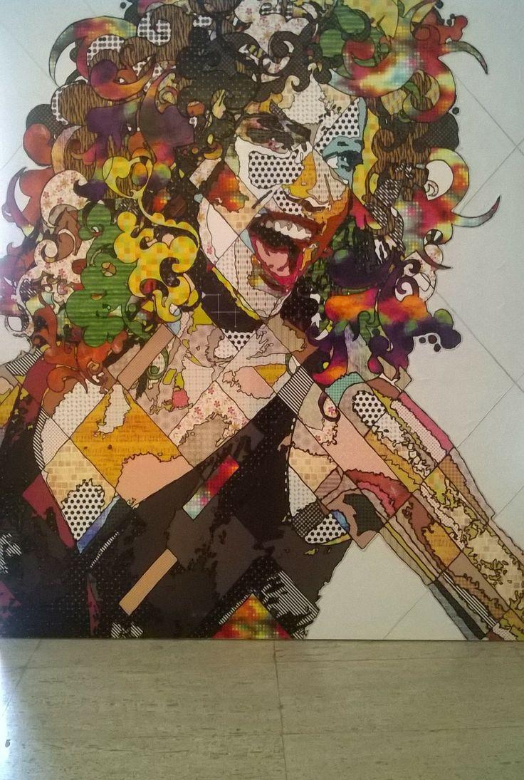 Pınar Du Pre 160x140cm mixed media on canvas