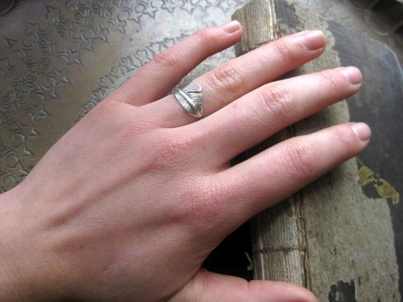 silver feather ringSilver Feathers, Flight Feathers, Feathers Rings