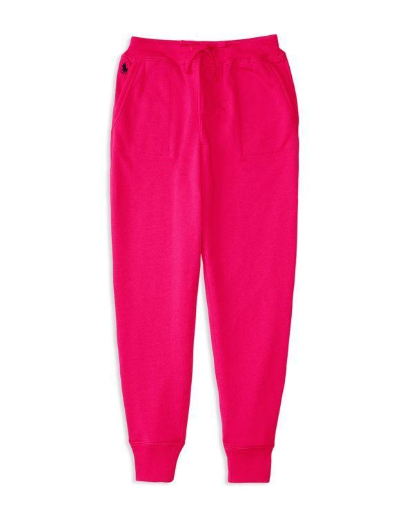 Ralph Lauren Childrenswear Girls' Terry Jogger Pants - Sizes 2-6X