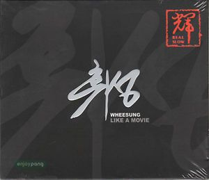 Wheesung / 1st Album CD - Like a Movie / released in 2002