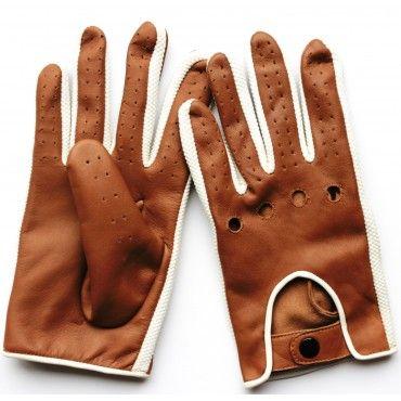 Ganterie Laura - Gant cuir marron foncé