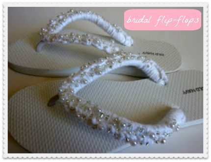 4c419efc838e  DIY Bridal Flip-Flops