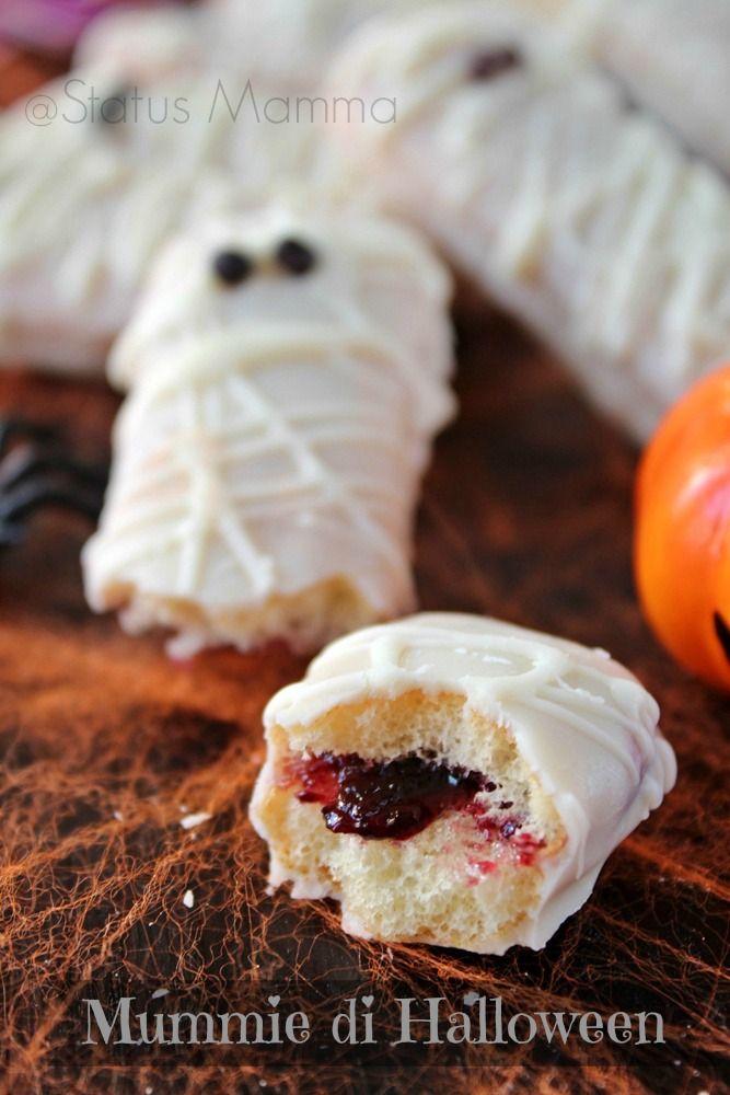 Mummie pavesini di Halloween ricetta dolci semplice e veloce per buffet economica Statusmamma Passo passo tutorial festa bambini Giallozafferano blogGz