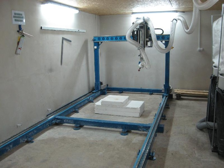 Diy 5 Axis Foam Milling Machine Cnc Stuff Pinterest