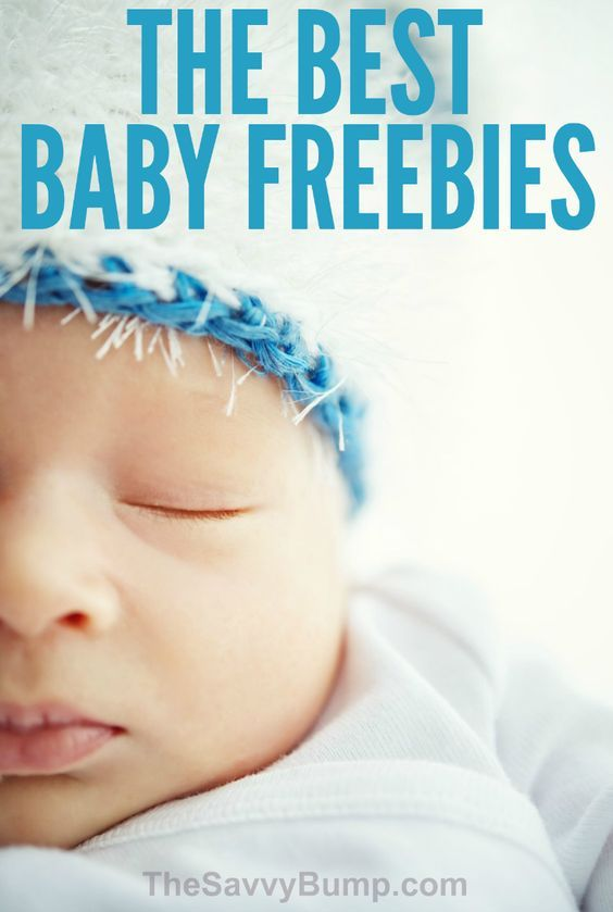 This LONG list of free baby stuff will save you a ton of money!