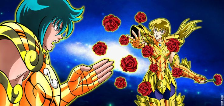 Saint Seiya - Gold Saint Capricornus Izo Vs Gold Saint Pisces Cardinale - Next Dimension