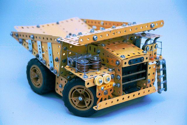 Meccano Wabco Dump Truck by Philip Webb