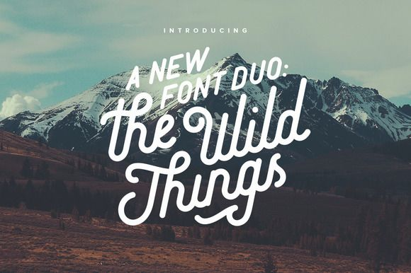 The Wild Things by Victor Barac on @creativemarket