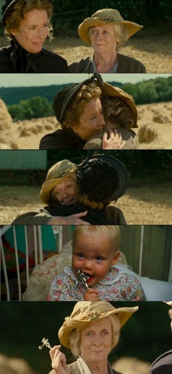 The moment where Maggie Smith and Emma Thompson made me cry during Nanny McPhee sequel.