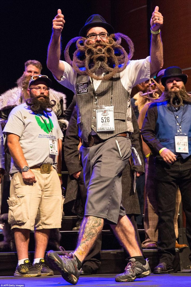 Jason Kiley took out the title for Best in Show at the 2017 World Beard and Mustache Championships in Austin, Texas on Sunday night