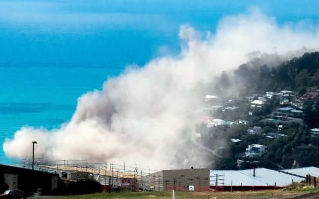 New Zealand's Christchurch rocked by 5.7 magnitude quake, cliffs collapse into sea | Reuters. Feb 14, 2016.