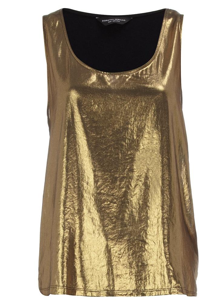 gold: Clothes Style, Fashion 2012, Gold Foil, Gold Fashion, Foil Vest, Personal Style, Spring Fashion, Gold Ginto, Gold Vest