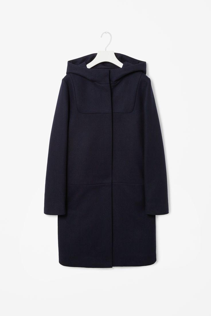 Hooded wool coat | cos