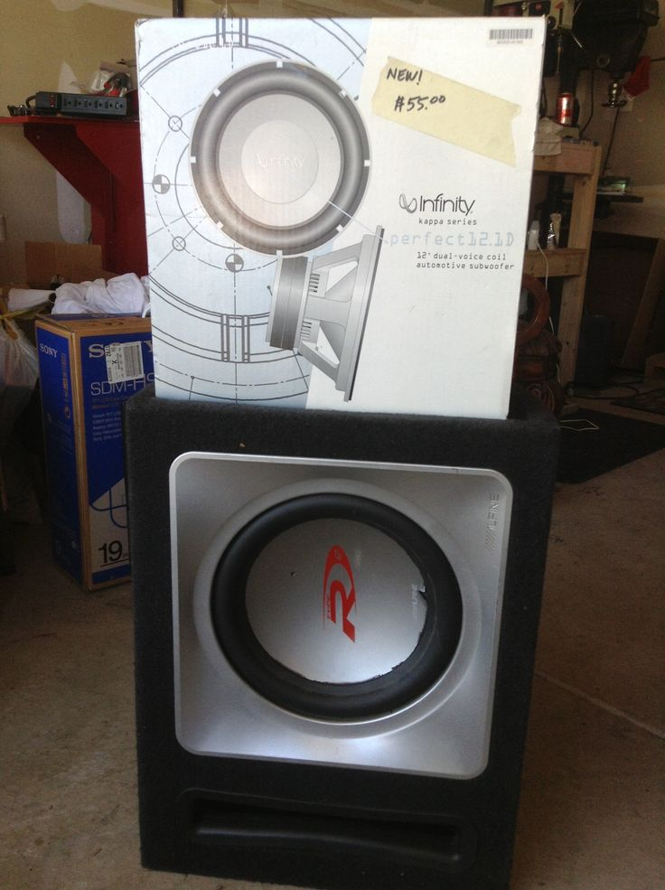 Subwoofer in WhatleyWorld's Garage Sale in Genoa City , WI for $55. Brand new 12 inch Infinity subwoofer with box